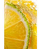 Erfrischungsgetränk, Orangenlimonade, Kohlensäurehaltig