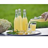 Erfrischungsgetränk, Holunderblütensaft