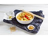 Thailändische Küche, Hühnchencurry