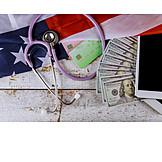 Finanzen, Gesundheitswesen, Usa