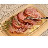 Meat Dish, Smoked Pork