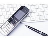 Büro, Telefon, Kontakt