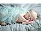 Baby, Schlafen, Nackt