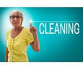 Dienstleistung, Putzhilfe, Cleaning