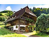 House, Farmhouse, Black Forest House