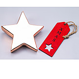 Star, Xmas, Label