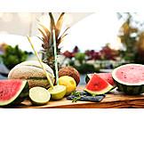 Fruits, Juicy, Summer