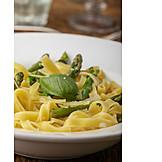 Green Asparagus, Tagliatelle