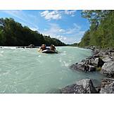 Isar, Rafting