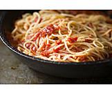 Spaghetti, Tomato Sauce