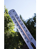 Hot, Thermometer, Temperature
