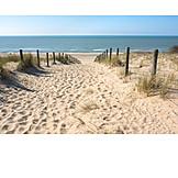 Strand, Meer, Strandweg