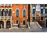 House, Front Door, Venice, House Entrance, Facade