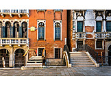 House, Front Door, Venice, House Entrance, Facade