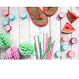 Summer, Party Decoration