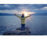 Mädchen, Lebensfreude, Sonnenenergie