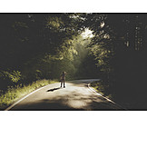 Forest, Photographer, Road