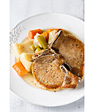 Schweinefleisch, Halskotelett