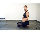 Pregnant, Gymnastics, Natal Exercises