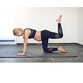Yoga, Pregnant, Natal Exercises