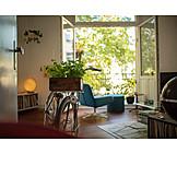 Urban Life, Bicycle, Wheel, Living Room