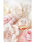 Wedding, Marriage, Fabric Rose