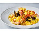 Paella, Spanische Küche, Paella De Marisco