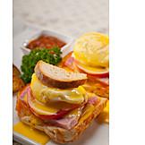Amerikanische Küche, Eggs Benedict
