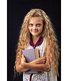 Teenager, Girl, School, Education, Book, Schoolchild