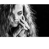 Teenager, Mädchen, Frustration, Traurig, Depression, Niedergeschlagen, Pubertät, Psychologie