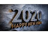Silvester, Neujahr, Jahreswechsel, Happy New Year, 2020