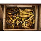 Bananas, Overripe, Organic Fruits