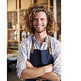 Portrait, Retail Occupation, Sales Executive