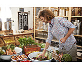 Healthy Diet, Shopping, Unpacked, Organic Grocery Store