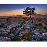 Sunset, North Yorkshire