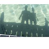 People, Water, Shadow