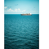 Sea, Container Ship
