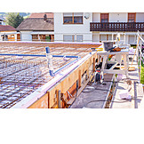 Construction site, Drain pipe