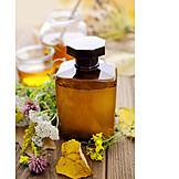 Heilkräuter, Alternative Medizin, Sirup