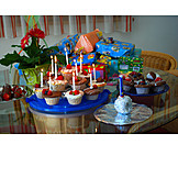 Birthday, Gifts, Birthday Table