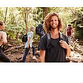 Young Man, Happy, Excursion