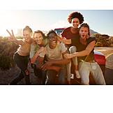 Friends, Group Picture, Roadtrip
