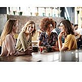 Freundschaft, Kommunikation, Freundinnen, Treffen