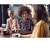 Kommunikation, Freundinnen, Treffen