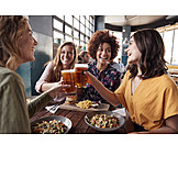 Friends, Meeting, Toast