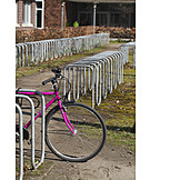 Bicycle, Bicycle Rack