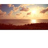 Sonnenaufgang, Meer