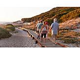 Beach, Walk, Vacation, Beach Coast Path