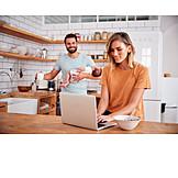 Häusliches Leben, Familie, Morgens, Online