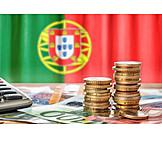 Finanzen, Euro, Portugal